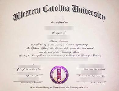 在美国如何获得西卡罗来纳大学(WCU)毕业证? How to get a Western Carolina University (WCU) degree in USA?