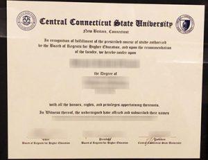 中央康涅狄格州立大学毕业证 CCSU Central Connecticut State University degree