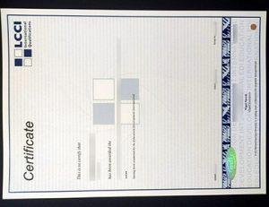 伦敦工商会LCCI证书